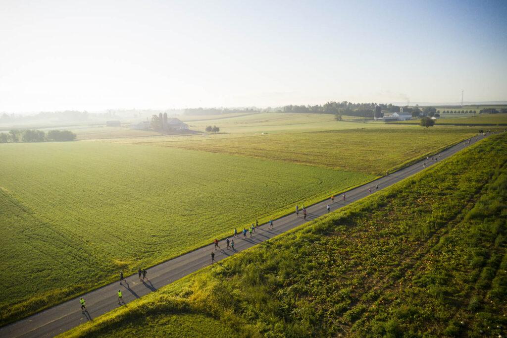 Aerial View of BIH Half Marathon